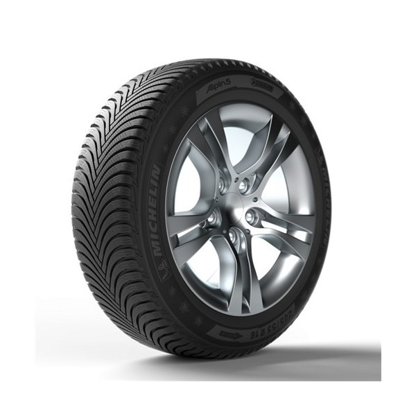 Michelin 225/55R17 97H ALPIN 5 ZP * MOE Kış Lastiği