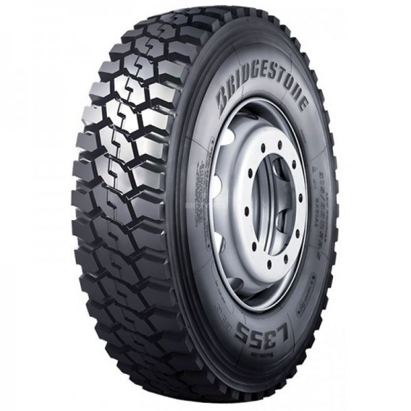 Bridgestone 13R22.5 156/150K L355 EVO Hafriyat Çeker Lastiği