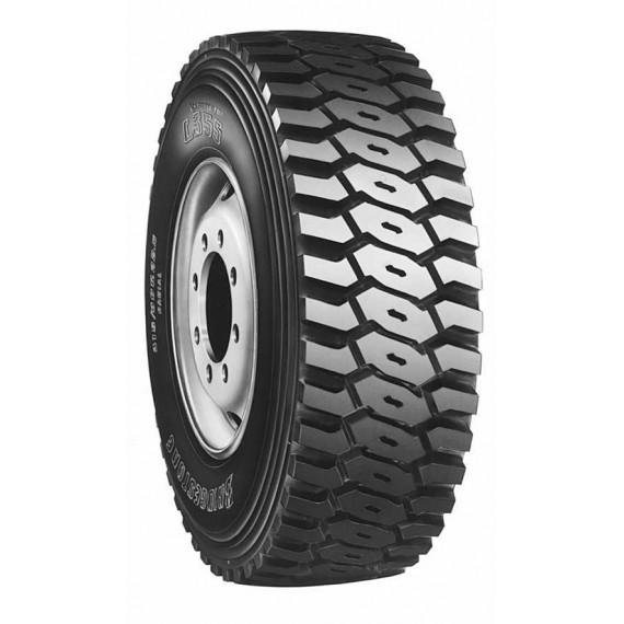 Bridgestone 315/80R22.5 156/150K L355 M+S Hafriyat Çeker Lastiği