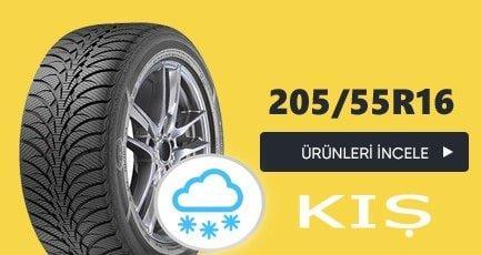 205 55 r16 kış lastikleri